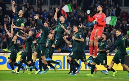 Italia-Grecia 2-0, Azzurri qualificati a Euro2020