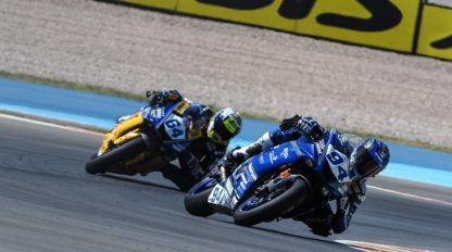 Supersport, prima pole per Perolari a Villicum