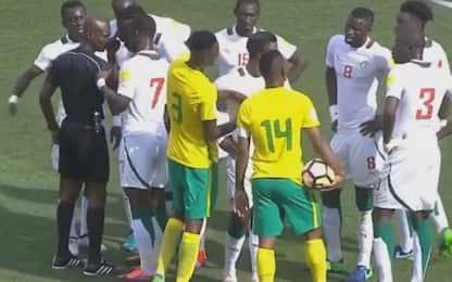 Arbitro radiato, Sudafrica-Senegal si rigioca
