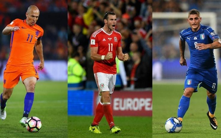 Robben, Bale, Verratti (GettyImages)