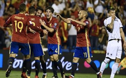 Mondiali: Spagna qualificata, impresa Islanda