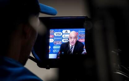"""Infantino: """"Il VAR ai Mondiali di Russia 2018"""""""