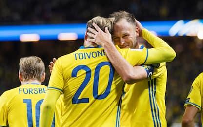 """Forsberg, """"italiani"""" ma non Ibra: ecco la Svezia"""