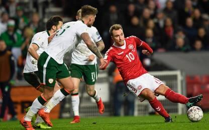 Eriksen non basta, Danimarca-Irlanda finisce 0-0