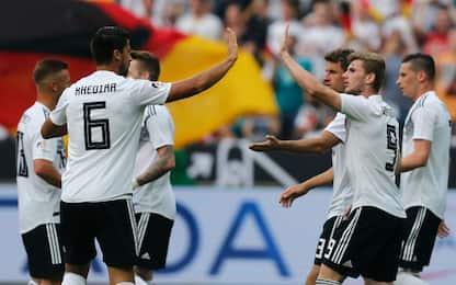 Germania-Messico: le probabili formazioni