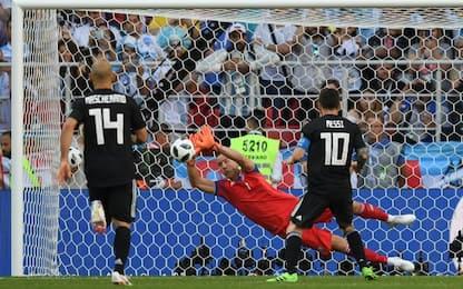 Messi, flop su rigore. L'Islanda resiste: è 1-1