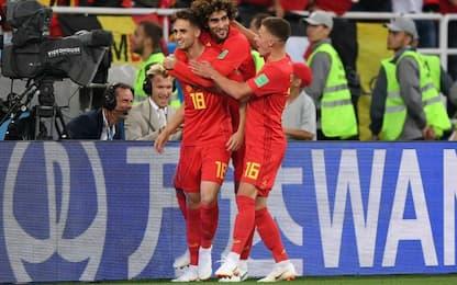 Mondiali, ottavi: le quote di Belgio-Giappone