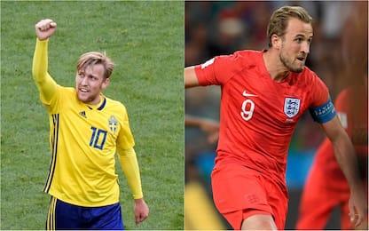 Inghilterra-Svezia, le chiavi della sfida