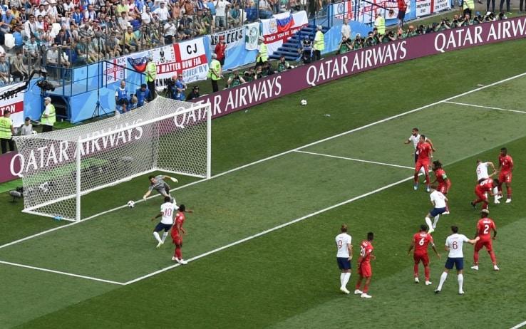 Il primo gol di Stones contro Panama (Getty)