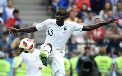 Verso Francia-Belgio: Kanté ha tre polmoni?