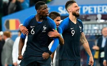 Mondiali, tutte le quote della finale Francia-Croazia
