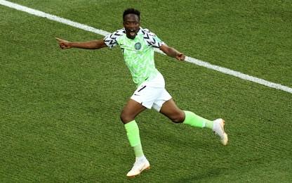 Musa trascina la Nigeria, 2-0 all'Islanda