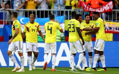 Colombia agli ottavi, contro il Senegal basta Mina