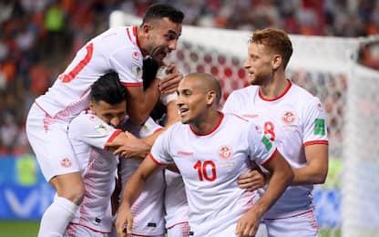 Tunisia a casa con una gioia: 2-1 a Panama