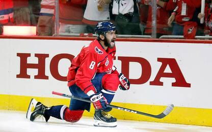 Stanley Cup, ai Capitals Gara-3: 2-1 nella serie