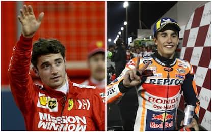 Orari delle gare: F1 alle 17.10, MotoGP alle 20
