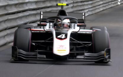 F2, pole De Vries a Monaco. Ghiotto terzo