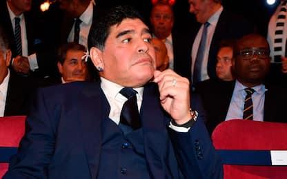 """Maradona, visto Usa negato: """"Ha insultato Trump"""""""