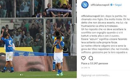 """Napoli: """"Vinciamo solo con le nostre forze"""""""