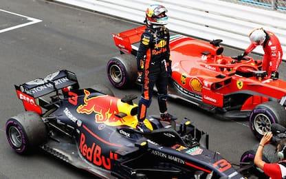 Ricciardo vince a Monaco. Vettel 2°, Hamilton 3°