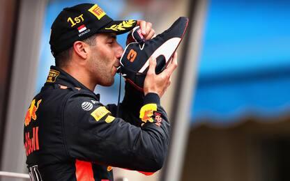 """Ricciardo: """"Preparavo da due anni questa vittoria"""""""