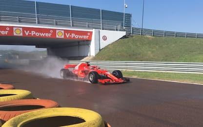Ferrari, Giovinazzi in pista per i test Pirelli