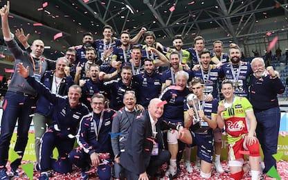 Trento, è tua la Coppa Cev: 3-2 a Istanbul