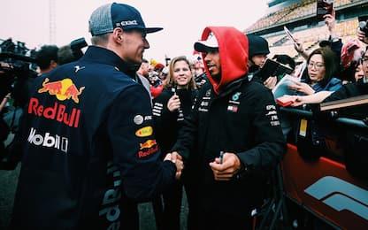 """Verstappen: """"Attacchi Lewis? Facile, sono giovane"""""""