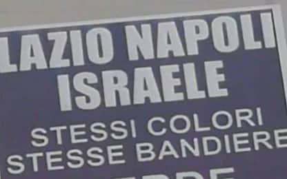 Roma, razzismo e calcio: volantini antisemiti