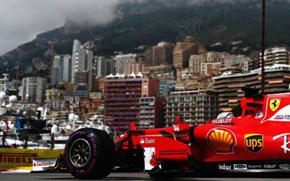 """GP Monaco, venerdì """"libero"""" con in testa la pole"""