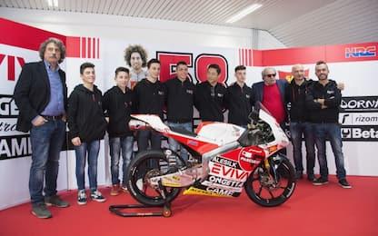 Moto3, presentata la squadra del team Sic 58