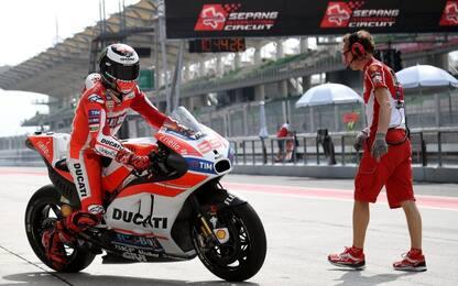 MotoGP, test Sepang: Ducati ok, Lorenzo in ritardo