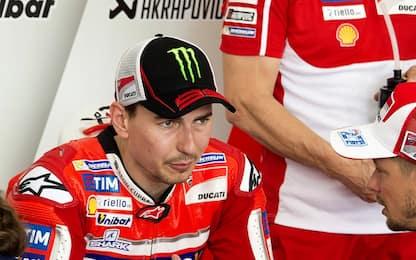 "Test MotoGp, difficoltà Lorenzo: ""Devo adattarmi"""