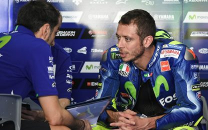 """Rossi: """"Soddisfatto, devo migliorare fisicamente"""""""