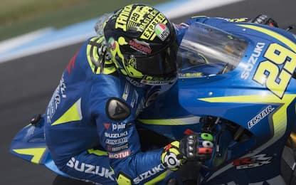 """Test MotoGP, Iannone: """"Il feeling è migliorato"""""""