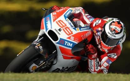 """Test MotoGP, Lorenzo: """"Siamo forti sul rettilineo"""""""