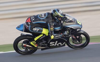 Moto2 e Moto3, quanto tricolore al via in Qatar