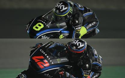 """KTM e KALEX, le """"regine"""" del team Sky-VR46"""
