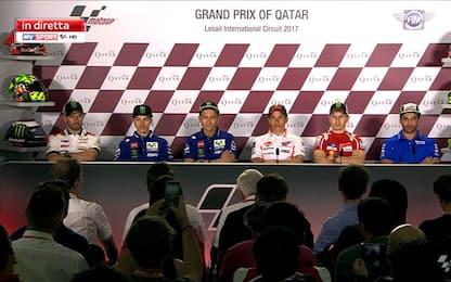 Motogp, rivivi la conferenza stampa dal Qatar