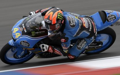 Moto3, GP Austin: Canet in fuga, Fenati in scia
