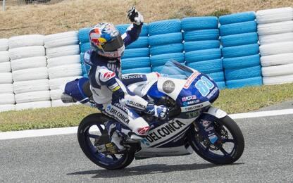 Moto3, Jerez: J. Martin in pole, terzo Fenati