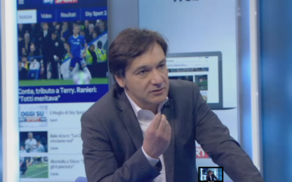 "Caressa: ""Inter sconcertante. Kessie al Milan..."""