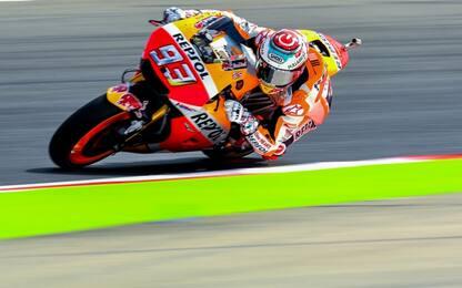 Marquez domina le Libere. Ritorna layout della F1