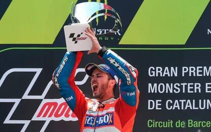 GP Catalunya, trionfo di Dovizioso