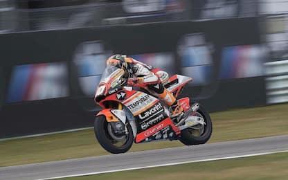 Moto2, Luca Marini si ritira dal GP di Germania