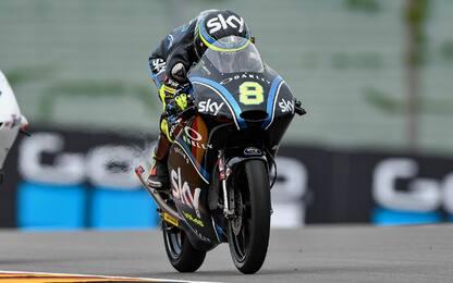 Moto3, Bulega-Show: sua la prima fila in Germania