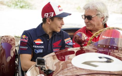 Il ritratto di Nieto, icona del motociclismo