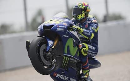 Rossi, 300 volte in MotoGP: tutti i record di Vale