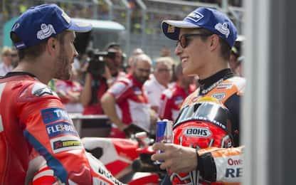 """Marquez: """"Sorpreso da Dovi, è lui il mio rivale"""""""