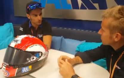"""Paso, il casco del Sic onorato con un """"poker"""""""